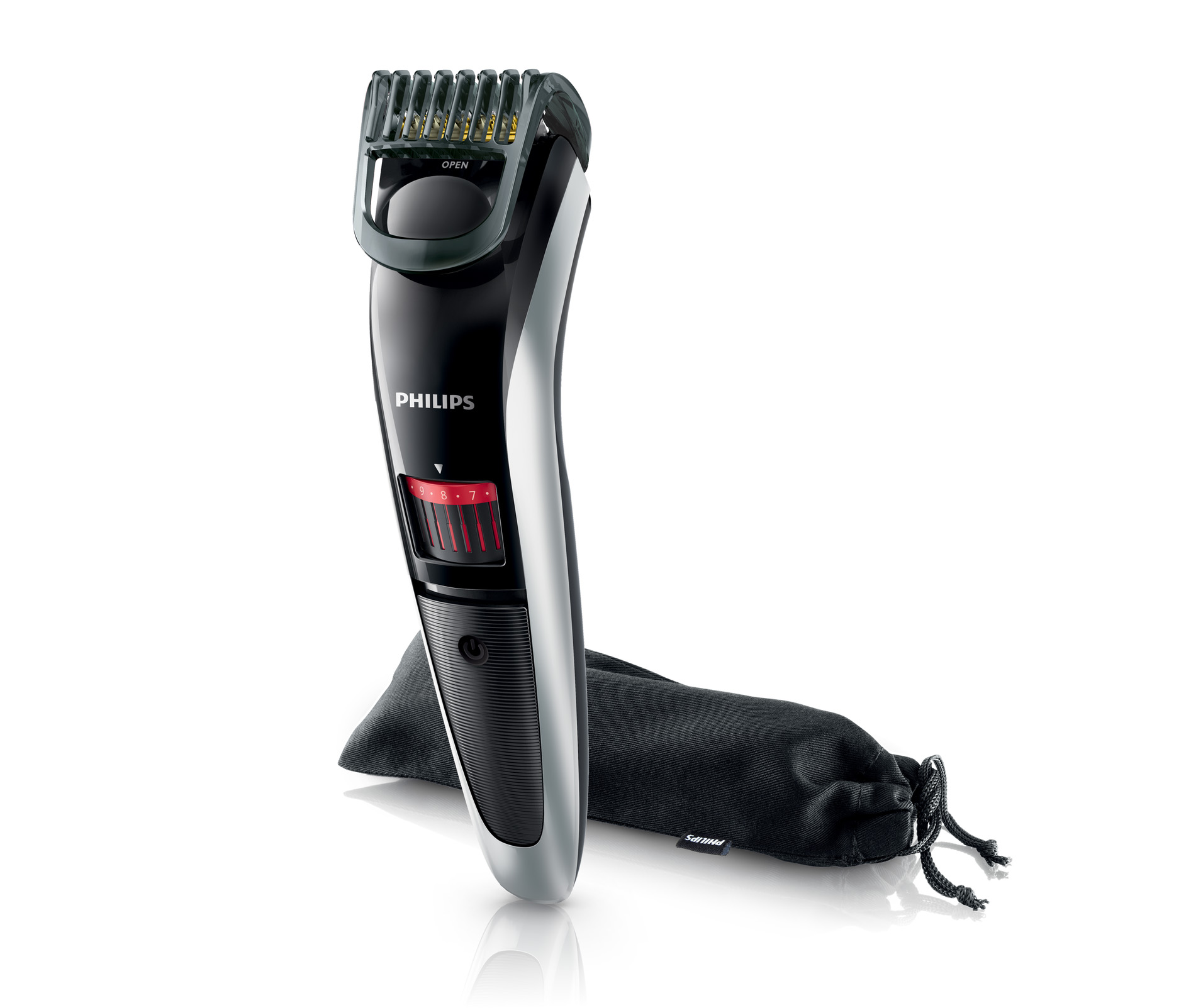 philips beardtrimmer series 3000 beard trimmer titanium blade cordless qt4013 23 ebay. Black Bedroom Furniture Sets. Home Design Ideas