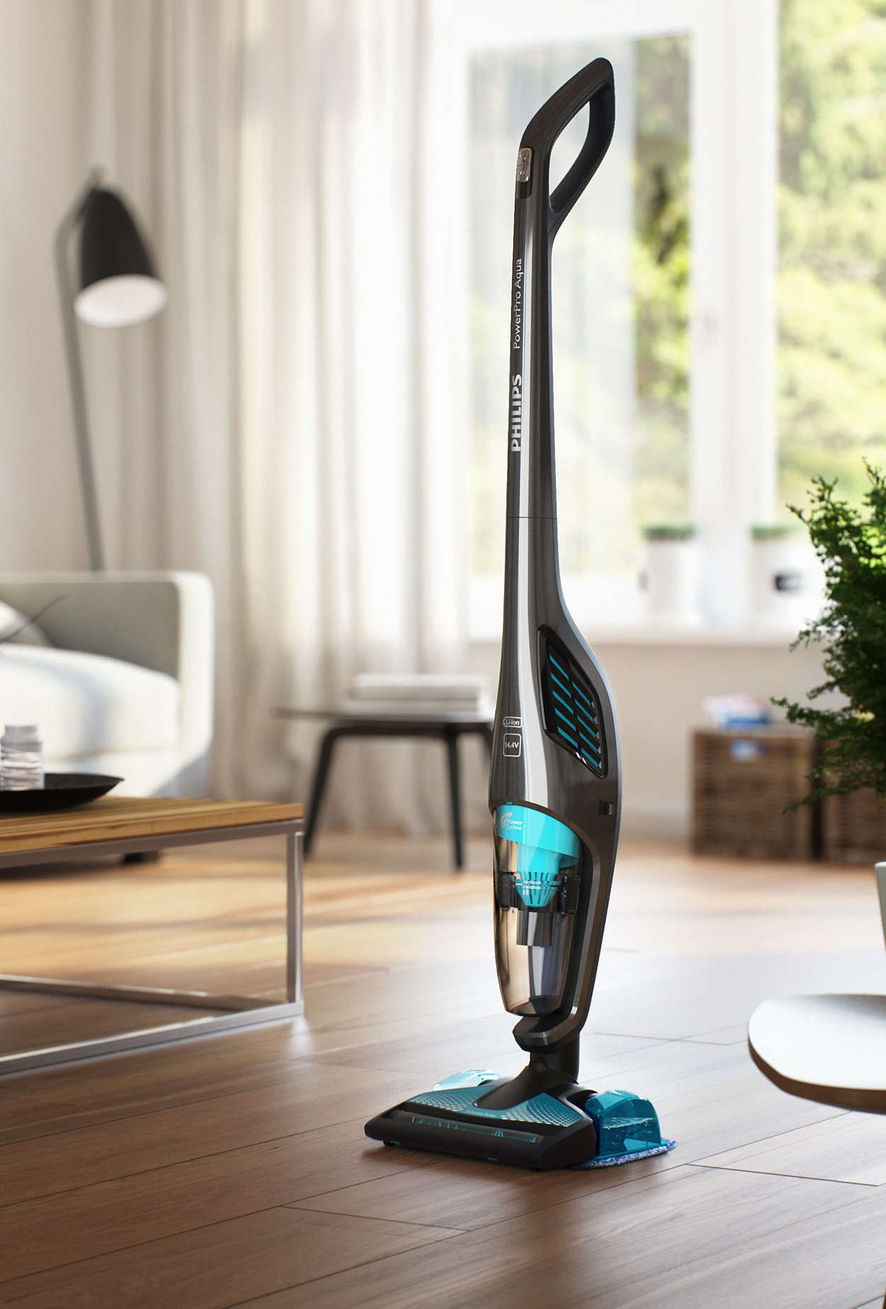 philips powerpro aqua stick vacuum cleaner upright. Black Bedroom Furniture Sets. Home Design Ideas