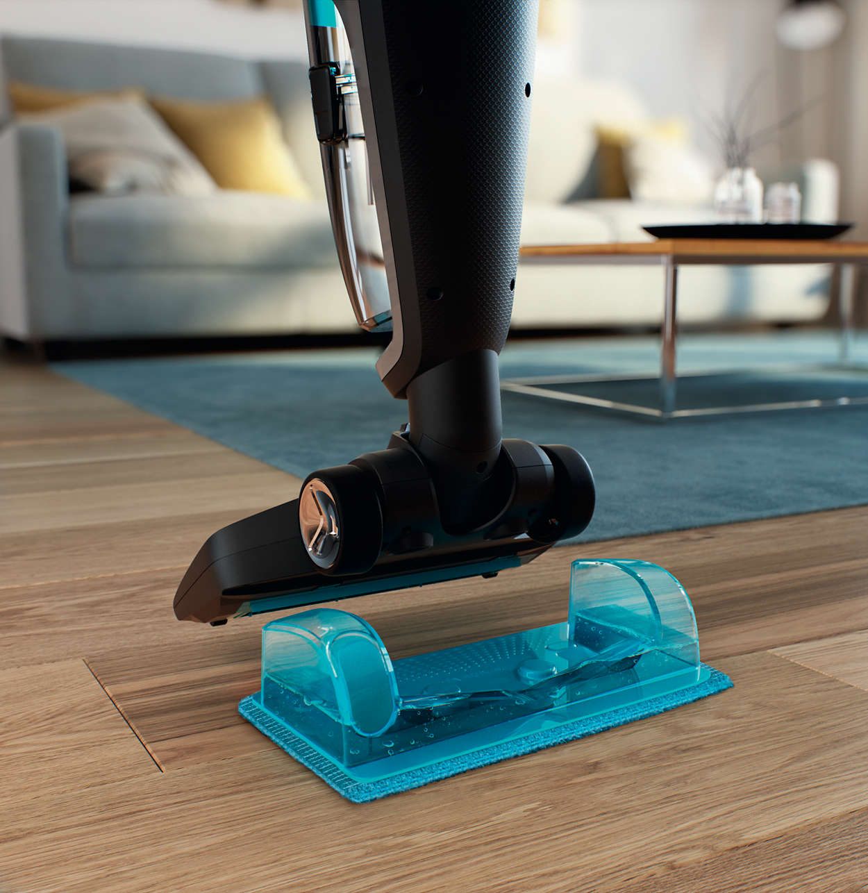 Philips Powerpro Aqua Stick Vacuum Cleaner Upright