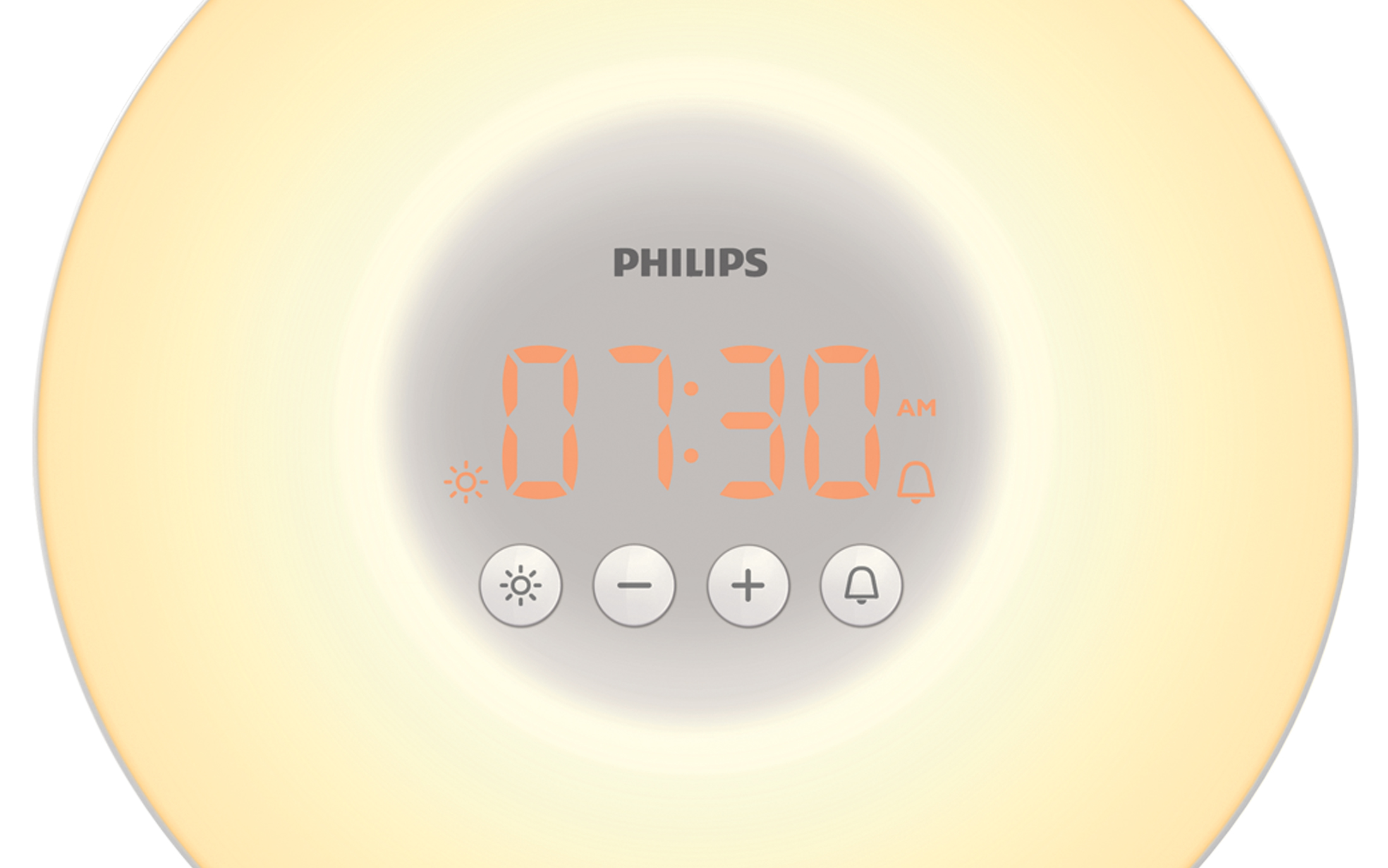 Philips Wake Up Light Gentle Beep Sound Bedside Lamp Alarm