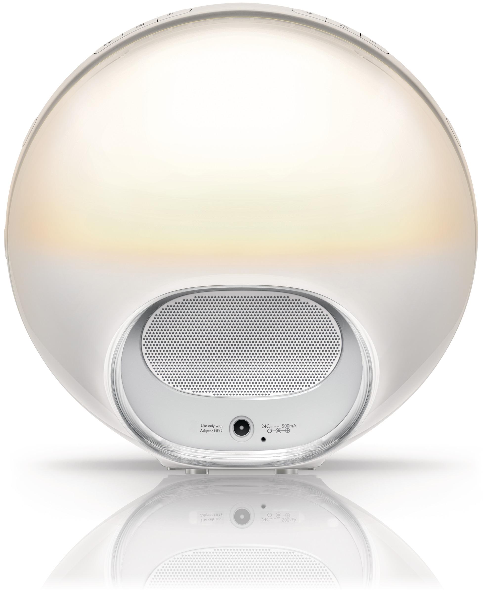 Philips Wake Up Light Alarm Sunrise Simulation Reading Lamp Radio HF3520/01