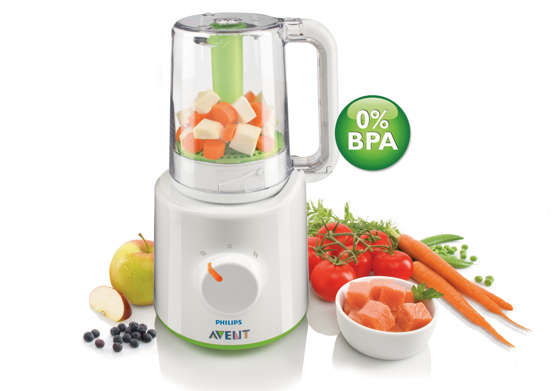 how to clean handle of philips blender